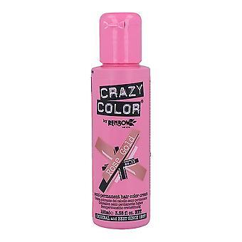 Permanent Dye Pink Gold Crazy Color Nº 73 (100 ml)