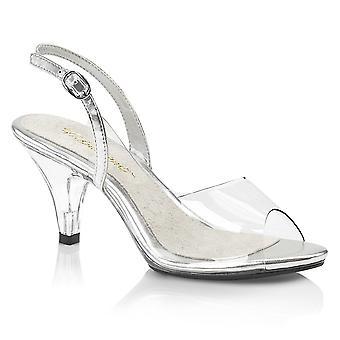 Fabulicious Damen's Schuhe BELLE-350 Clr-Slv/Clr