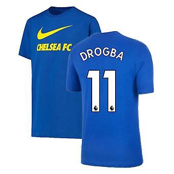 2021-2022 نادي تشيلسي سووش تي (أزرق) (DROGBA 11)