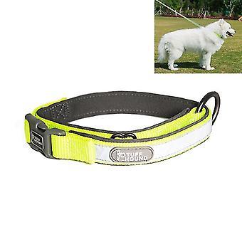 Tuffhound 1427 Nylon + Submersible + Reflector Bar Adjustable Dog Collar, Adjustable Range: