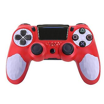 Gamepad Bluetooth vezeték nélküli kapcsolat PS4 Gamepad(Redwhite)