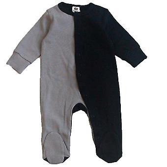 Vauvan puuvilla romperit pitkähihaiset vaatteet Vastasyntynyt vauvan jalka haalari haalari haalari