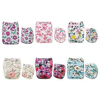 Baby Cloth Diapers One Size Washable Cloth Nappy For Baby And