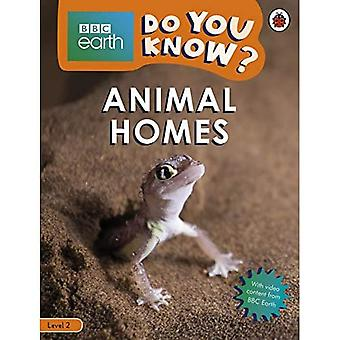 Do You Know? Level 2 - BBC Earth Animal Homes