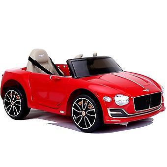 Elektrische kinderauto - Bentley - Rood