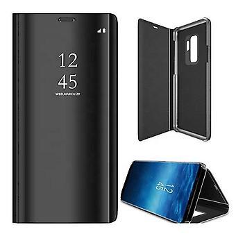 Samsung Galaxy S21/S21 5G - Älykäs kirkas näkymäkotelo - Musta