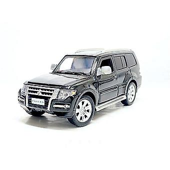 Toy cars 1/32 pajero v97 suv model toy car alloy die cast with sound light steering off road toys vehicle