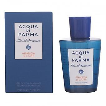 Douchegel Reparatie Blu Mediterraneo Arancia Di Capri Acqua Di Parma (200 Ml) 151941 151941 151941