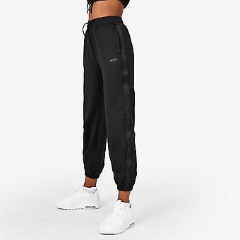 Everlast Womens Premium Taped Track Joggers Sweatpants Jogging Bottoms Open Hem