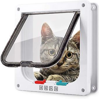 """דלת פליפ חתול, דלת לחיות מחמד המתאימה לחתולים במשקל של פחות מ-12 ק""""ג"""