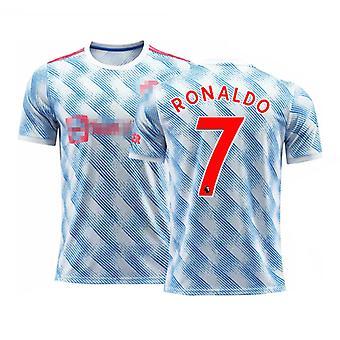 Cristiano Ronaldo Manutd Maillot Extérieur N°7 Taille Enfants