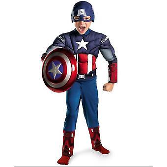 Avengers Captain America Boy Cosplay Halloween Clothes
