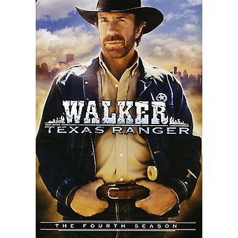 Walker Texas Ranger: Säsong 4 [DVD] USA import