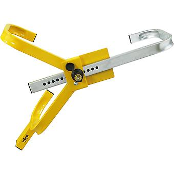 Wheel Clamp suitable for most wheel size made from solid steel
