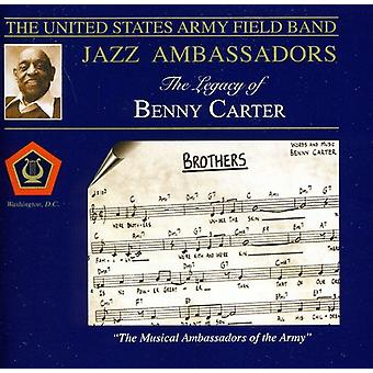 U.S. Army Field Band Jazz Ambassadors - Legacy of Benny Carter [CD] USA import