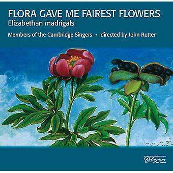 Weelkes/Byrd/Bennet - Flora Gave Me Fairest Flowers: Elizabethan Madrigals [CD] USA import