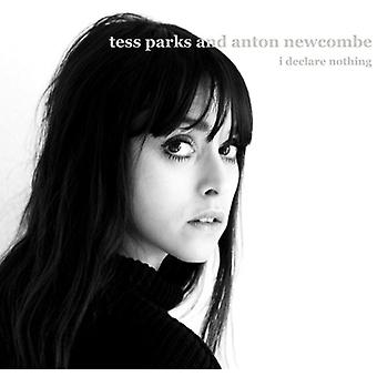 Parks, Tess & Newcombe, Anton - Declare Nothing [CD] USA import