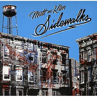 Matt & Kim - Sidewalks [CD] USA import