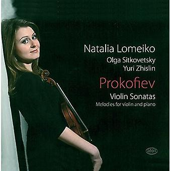 プロコフィエフ/Lomeiko/・ シトコヴェツキー/Zhislin - ヴァイオリン ・ ソナタ ・ メロディー [CD] 米国のインポート