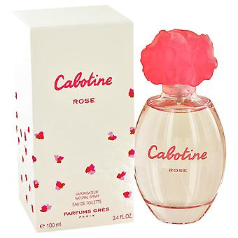Gres Parfums Cabotine Rose Eau De Toilette 100ml EDT Spray