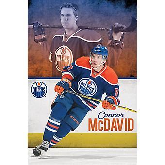 Edmonton Oilers - Connor McDavid juliste Juliste Tulosta