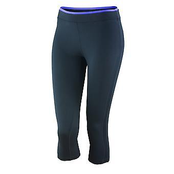 Spiro Womens/Ladies Fitness Capri Pants/Bottoms