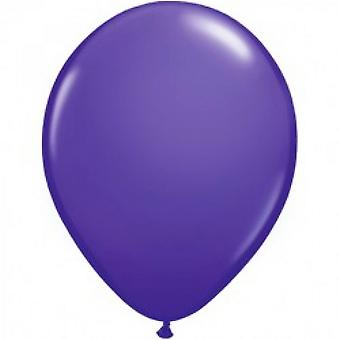 Qualatex 5 Inch vlakte Purple Violet Latex Party ballonnen (Pack van 100)
