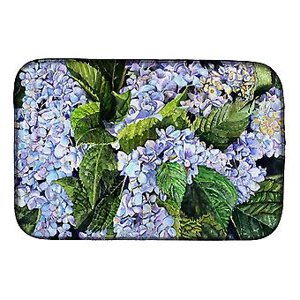 Carolines Treasures  8730DDM Hydrangea Dish Drying Mat