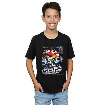 Disney jongens Big Hero 6 Anime Cover T-Shirt