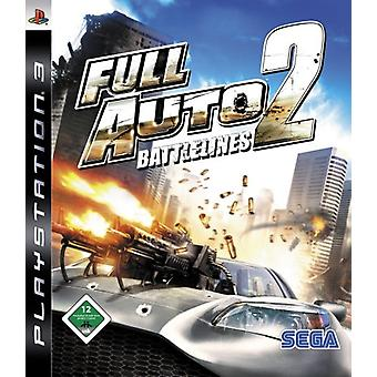 Ps3 Game Full Auto 2 Battlelines (niemiecki) - Nowość