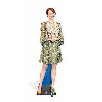 Emma Stone naturlig storlek kartong släppandet