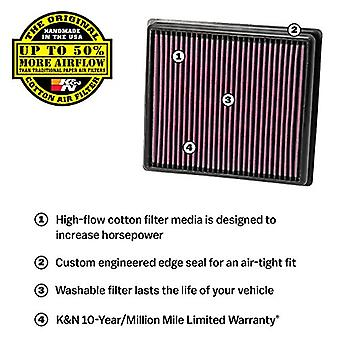 K&N 33-2740 High Performance Replacement Air Filter
