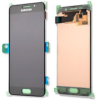 Дисплей LCD полный набор GH97-18250 B черный для Samsung Галактика A5 A510F 2016