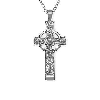 Sterling sølv håndlaget tradisjonelle skotske Kildalton Cross kjede anheng