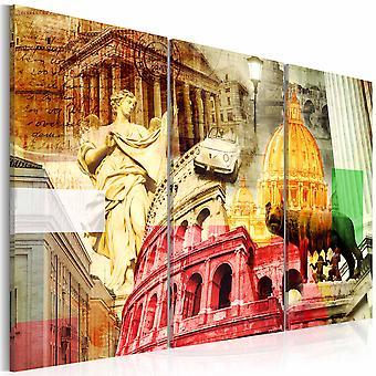 Quadro - Roma incantevole - trittico