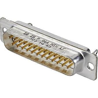 FCI D-SUB DB25P364TXLF D-SUB stift remsa 180 ° antal stift: 25 Lödstift 1 st. (s)