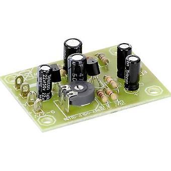Pre-amp Assembly kit Conrad Components 9 V DC, 12 V DC, 24 V DC