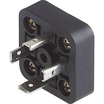 Hirschmann 933 379-100 GSA-U 3000 N LO Inbouwstekker, GMD serie zwart aantal pinnen: 3 + PE