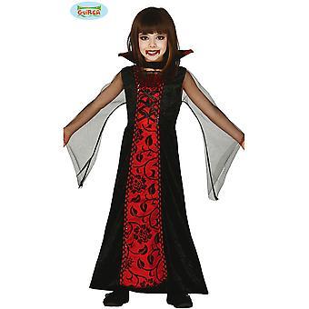 Kinder kostuums vampier meisje kostuum