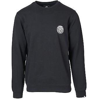 Rip Curl Wettie Crew sweatshirt i sort