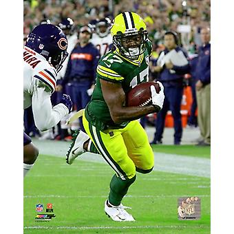 Davante Adams 2018 Action Photo Print