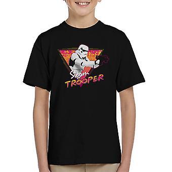 Original Stormtrooper Retro Wave 80s Kid's T-Shirt