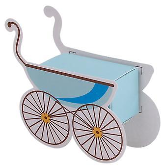 TRIXES querida Handcart doces caixas 25PCS azul