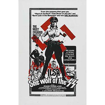 Ilsa, She Wolf of the SS Movie Poster (11 x 17)
