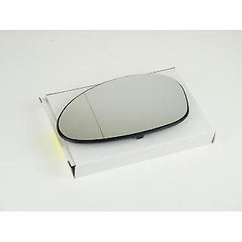 Venstre passager side spejlglas (opvarmet) & holder til BMW 3 Touring 2005-2008