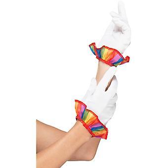 Clownhandschuhe Unisex Erwachsene Karneval