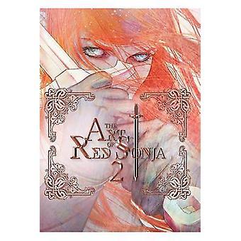 Art de Red Sonja - Volume 2 par Jay Anacleto - Amanda Conner - Mel Rubi