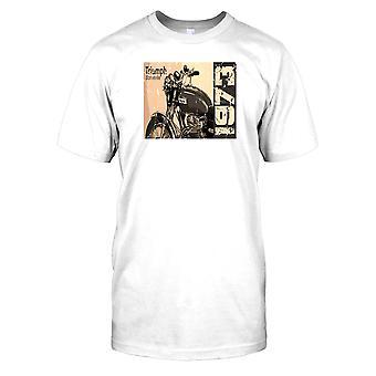 Triumph Bonneville 1973 - klassisk cykel Mens T Shirt