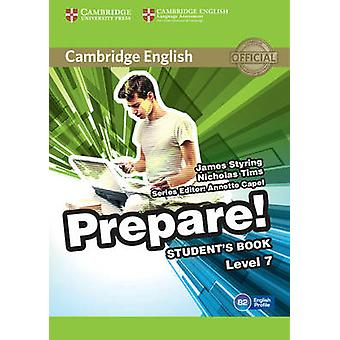 Cambridge English Prepare! Level 7 Student's Book - A - Level 7 by Jame
