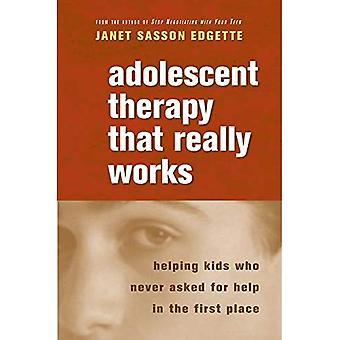 Terapia para adolescentes que realmente funciona: Ayudar a los niños que no pidieron ayuda en primer lugar (Norton Professional Books (libro en rústica))